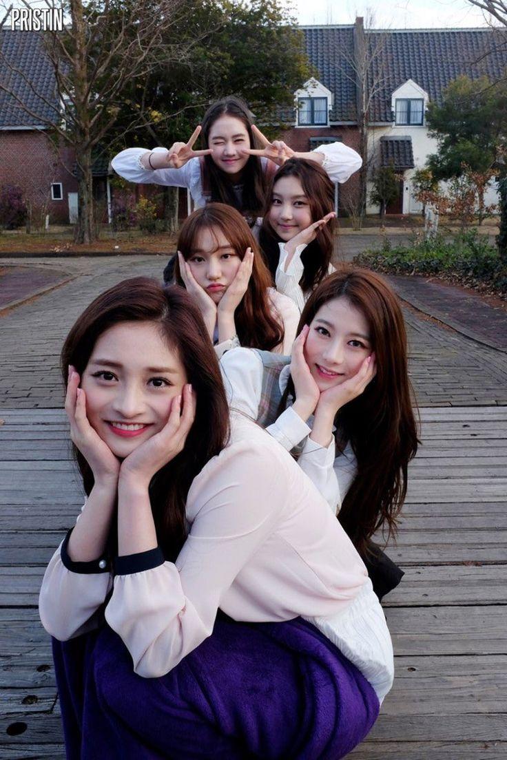 PRISTIN ♡ 'Hi!Pristin' image Kyulkyung, Rena, RoA, Sungyeon & Kyla