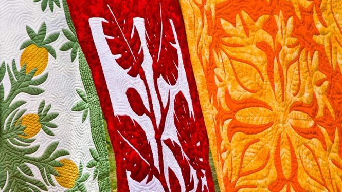 I want a Hawaiian quilt, my applique skills not good enough to make one.