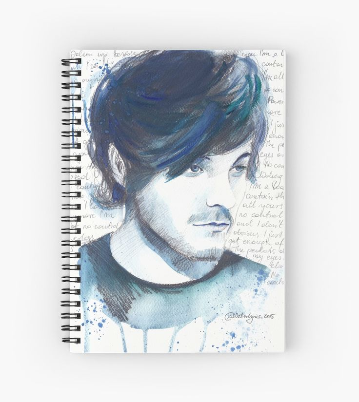 Spiral Notebook Louis Tomlinson by WaterLyrics