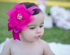 Faixa para bebe pink                                                       …