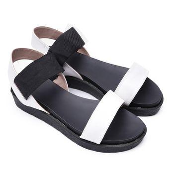Giày sandal 3.4cm quai ngang Dolly&Polly-BM02 – Shop Mẹ Bốp