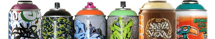 Ironlak Collector Cans & Montana Collector Cans, Graffiti Paint, Graffiti Spray Paint, Graffiti Supplies, Graffiti, the LA UNDERGROUND
