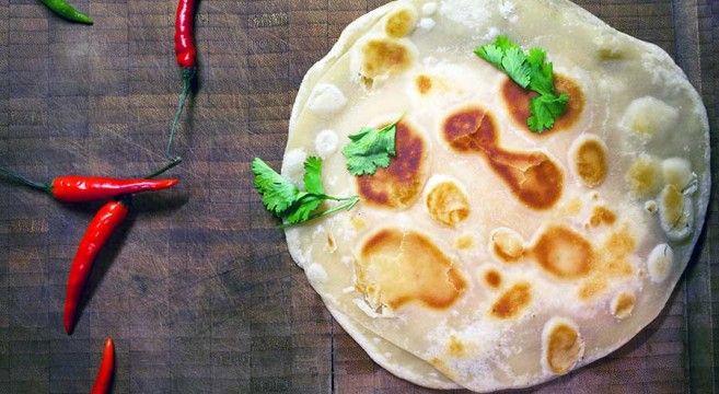 Indisk brød med kartoffelfyld // Aloo Paratha, indian bread with potaoes