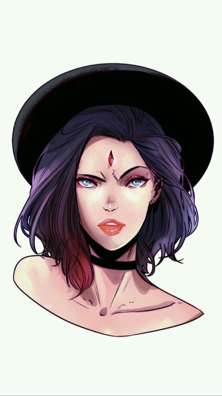 Ravena Desenho Da Ravena Desenhos Do Jovens Titans Ravena