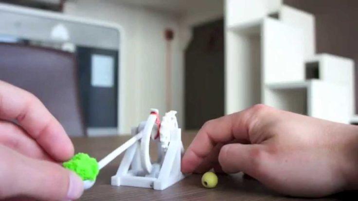 Catapulta Leonardo Da Vinci - Faktory 3D Print