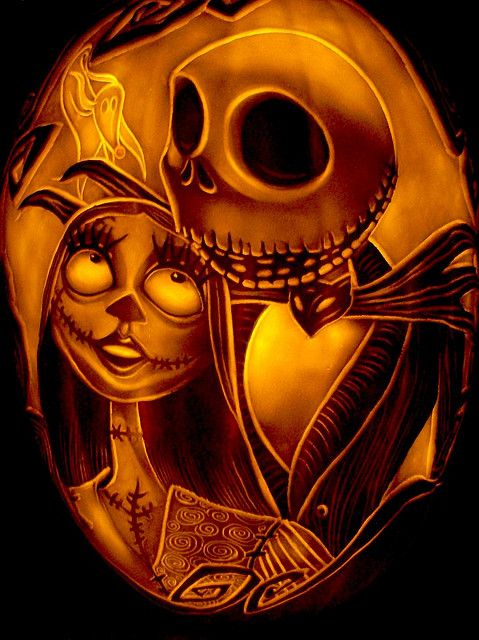 Jack and Sally by DanSzczepanski, via Flickr My daughter Alyssa would love this.