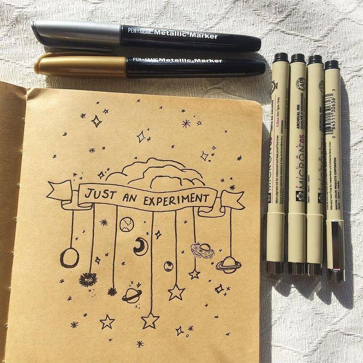 Sweet dreams everybody art by @aaravstudies #notebooktherapy