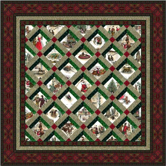 Home Treasures Quilting Patterns : Holiday Treasures Quilt Kit @ JinnyBeyer.com Jinny Beyer for Intermediates Pinterest ...