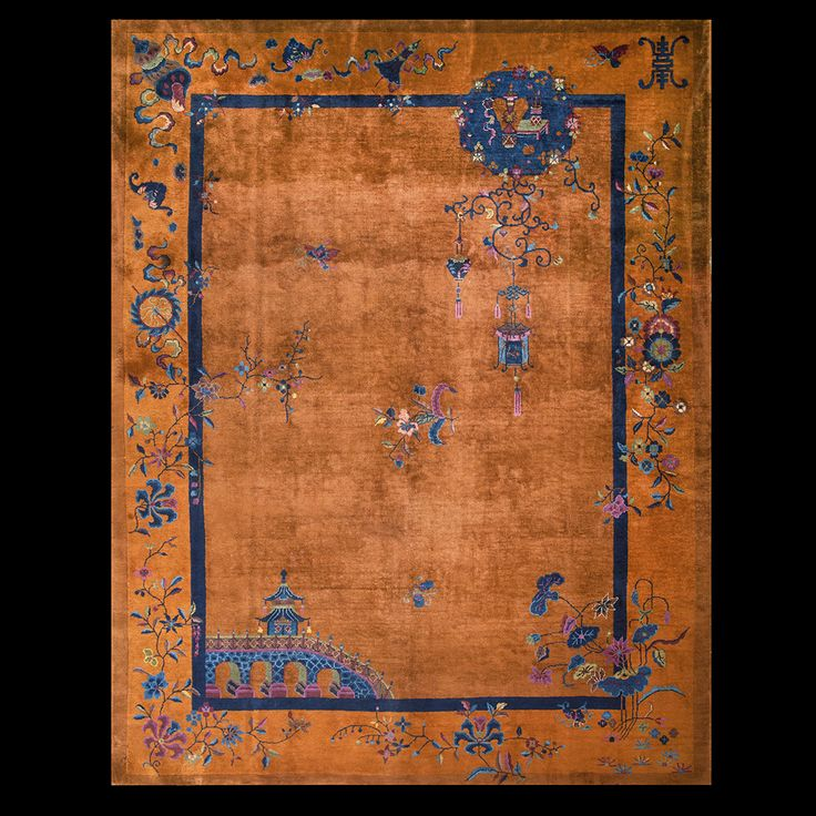 150 Best Antique Chinese Art Deco Rugs Images On Pinterest