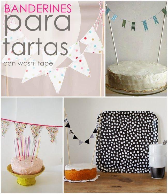 Ideas para decorar con BANDERINES!