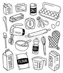 Coloriage de ustensiles de cuisine pour colorier pictures - Ustensiles de cuisine en anglais ...