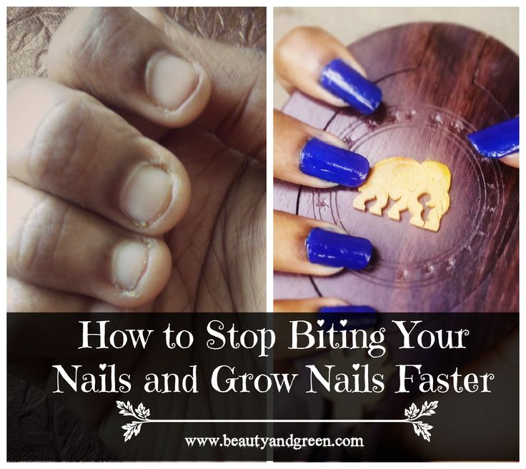 how to make your nails gorw faster