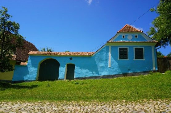 Viscri traditional house