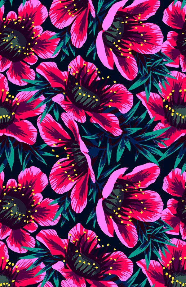 florecillas de pared (Andrea Stark)