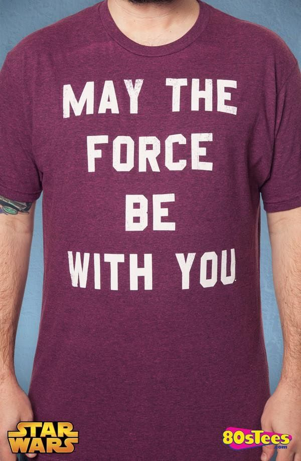 Red Force Be With You Star Wars Shirt