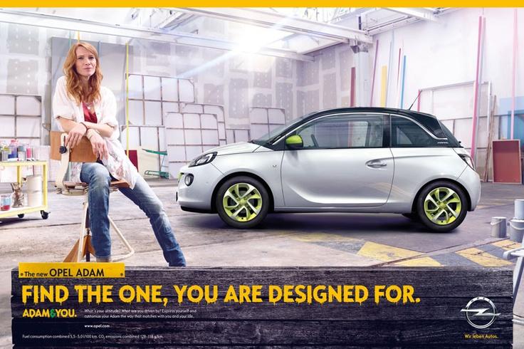 Kampagne für den Opel ADAM © Scholz & Friends Group GmbH