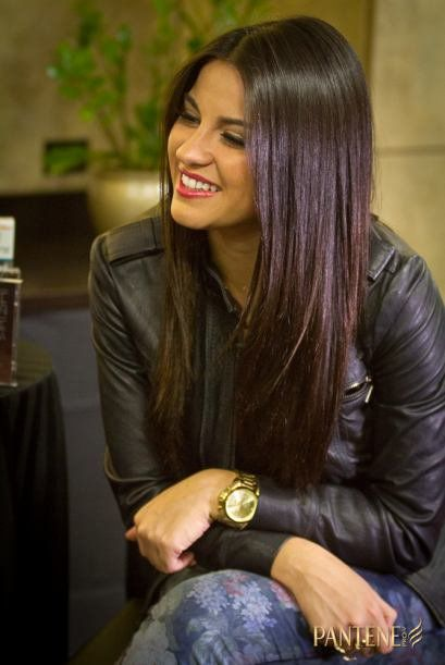 Maite Perroni ... Pantene beautiful hair