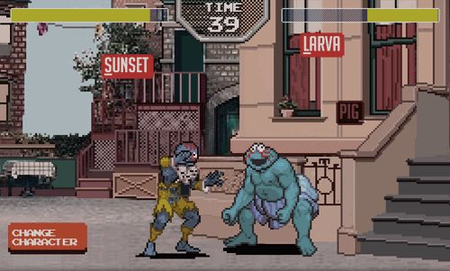 Sesame Street Fighter Is The Logical Fusion Of Two Childhood Favorites | The Creators Project