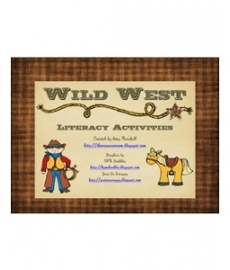 Totally awesome free printable - multiple related cowboy themed early literacy activities  http://www.scribd.com/doc/87395120/Cowboy#