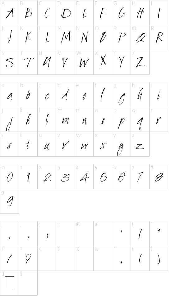 Baby Bowser Font