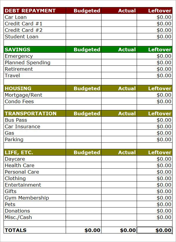 Best 25+ Household budget template ideas on Pinterest Family - personal budget spreadsheet
