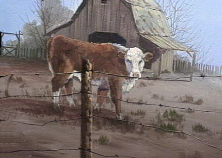 Artists Who Paint Cows | ... Painting Instructional DVDs ...