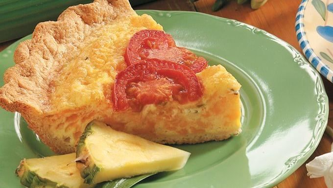 Looking for a savory pie? Check out this cheesy egg pie made using Pillsbury® Refrigerated Crescent Dinner Rolls.