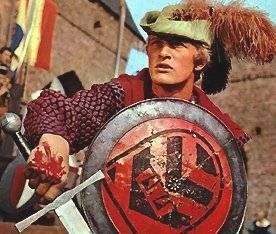 Floris. Late 60's early 70's Dutch TV series. Started the fame of Rutger Hauer.