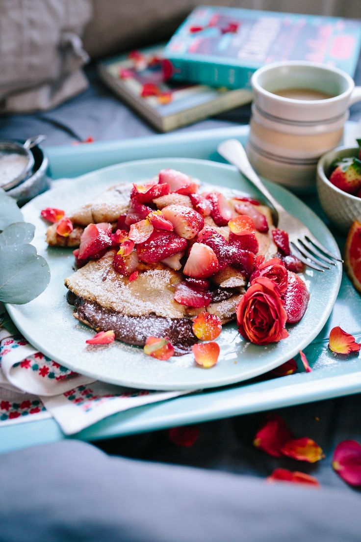 Nutella-Stuffed Protein Crepes with Berry Rum Syrup — Cheeky Kitchen