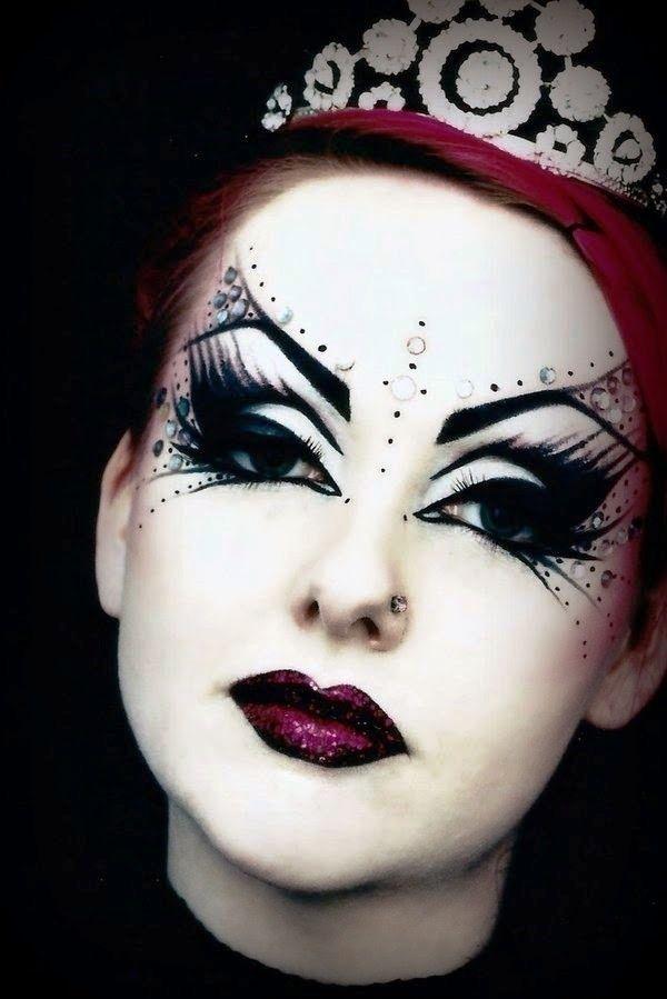 22 best Halloween makeup images on Pinterest | Happy halloween ...