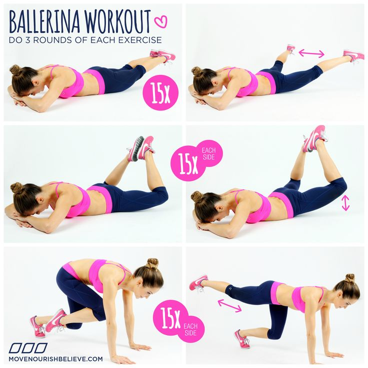 Ballerina workout! #ballerina #fitness