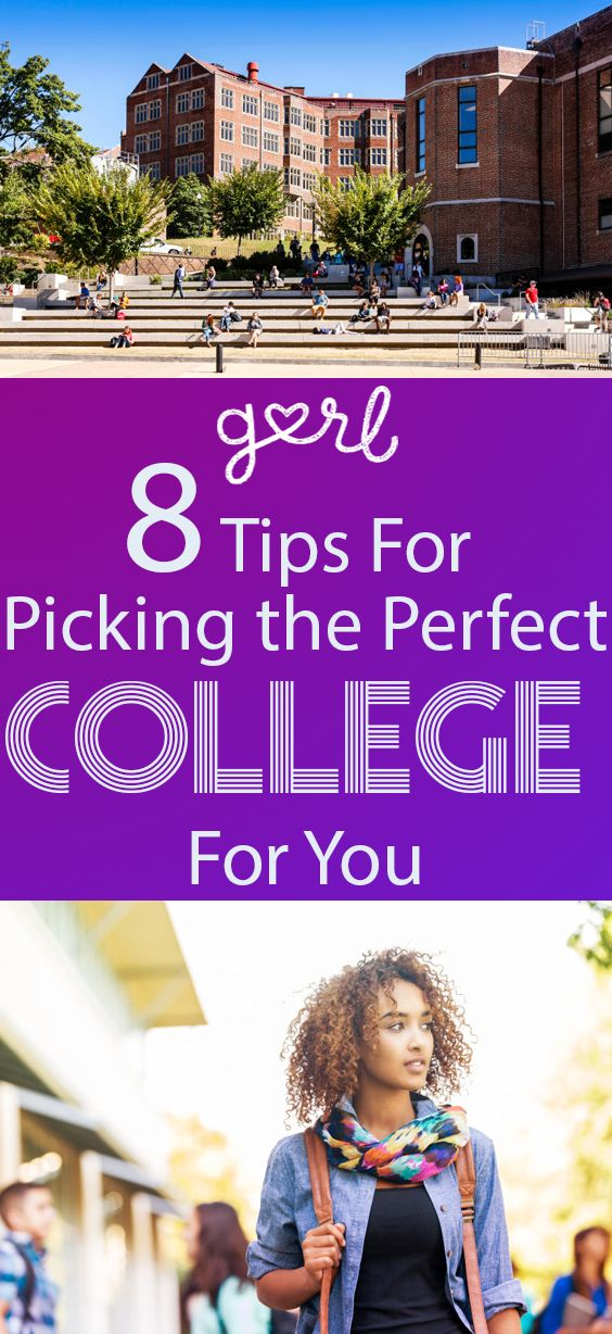 Choosing the right college is an important decision that can seem daunting, even if you think you have one in mind. There are so many options and so many factors  to take into consideration. You're likely facing pressure from your parents, friends, and maybe even your teachers. Take a deep breath - it's all going to be okay.