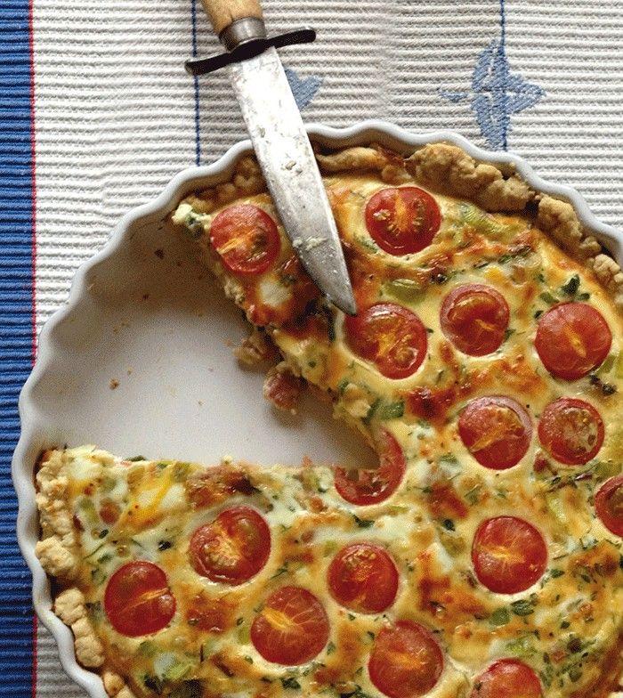 MAHTAVA! Der Finnische Food & Design Blog I Peekoni-Tomatipirukas I Speck-Tomaten-Quiche I Rezept aus Estland I Copyright Michaela Fuchs