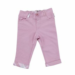 %100 Organik Pantolon Pink