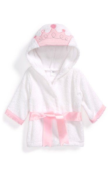 Baby Aspen 'Little Princess' Hooded Terry Robe available at #Nordstrom