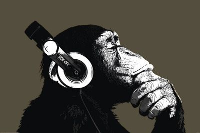 The Chimp-Stereo Poster at AllPosters.com