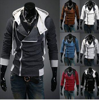 Newest Plus size Hooded Jacket Casual Winter Jackets hoody sportswear Assassins Creed Men's Clothing Hoodies Sweatshirts #Affiliate