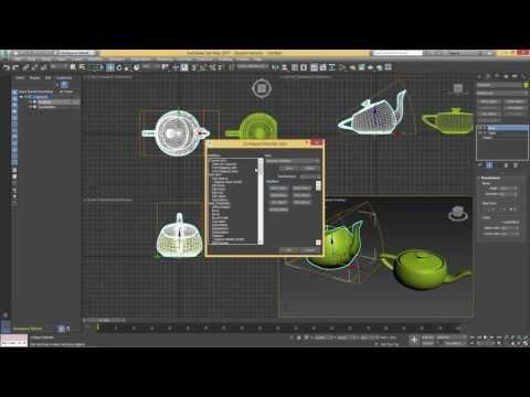 8 Modifier Paneli Configure Modifier Sets HD 3Ds Max Modelleme Eğitim | Solidworks Eğitim - Cinema 4D Eğitim - Autocad Eğitim - Revit Eğitim - 3Ds Max Eğitim - Carrier Hap Eğitim