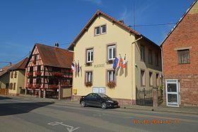 La mairie.Altenheim