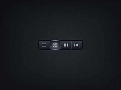 Download Radio button (free PSD)