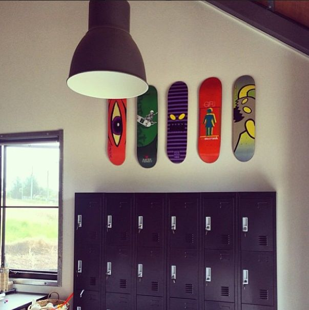 Kids zone skate decoration shapes decora ao wall for Decor zone homes