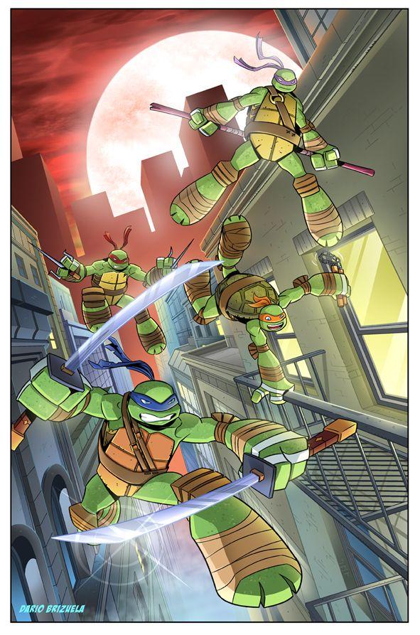 TMNT by DarioBrizuelaArtwork.deviantart.com