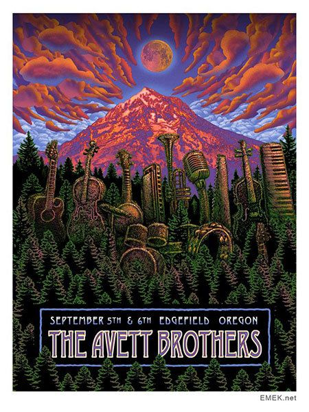 The Avett Brothers sold out of this poster before I could get it at the show!