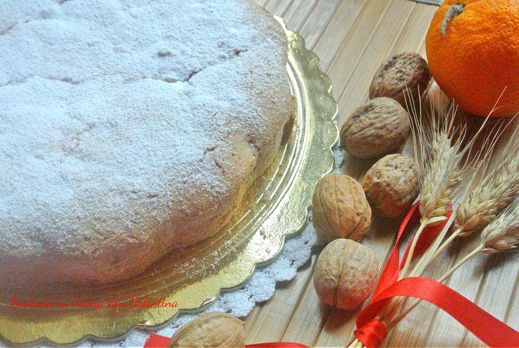 Torta+noci+panna+e+arancia