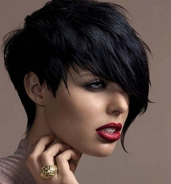Sensational 1000 Ideas About Short Black Haircuts On Pinterest Haircuts Hairstyles For Women Draintrainus