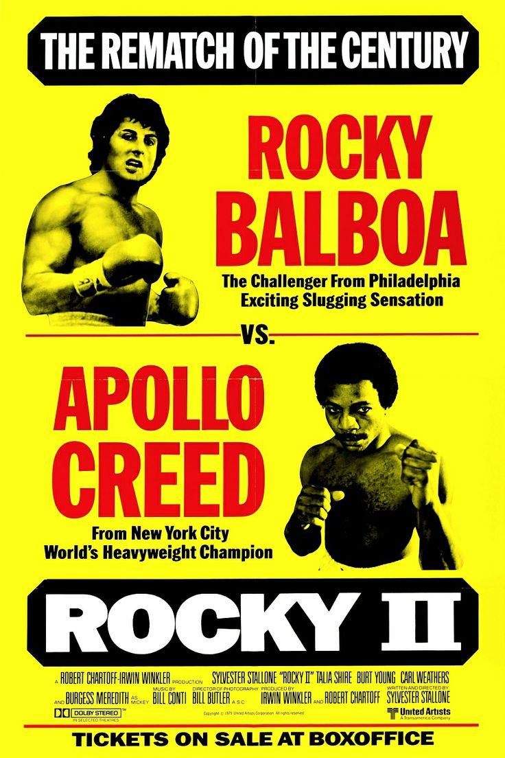 洛奇續集 Rocky II (1979)  119 min (USA)