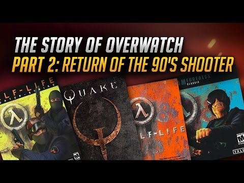 The Story of Overwatch: Return of the 90s Shooter - YouTube  Second part of #Overwatch documentary from GameSpot