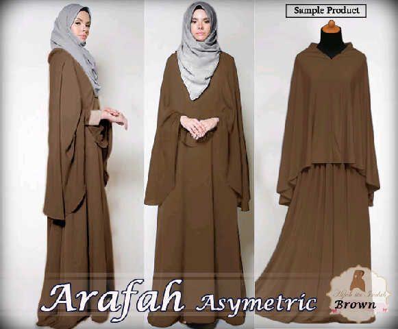 Baju Blus Muslim Arafah Choco