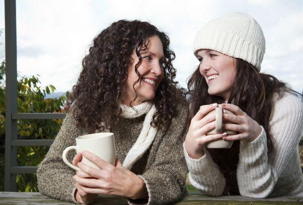 мама и взрослая дочь - Поиск в Google