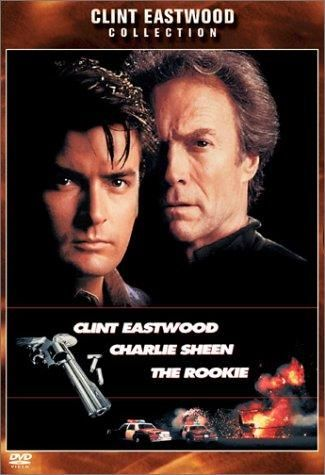 Directed by Clint Eastwood.  With Clint Eastwood, Charlie Sheen, Raul Julia, Sonia Braga. Clint Eastwood plays a veteran detective who gets stuck with a rookie cop (Charlie Sheen) to chase down a German crook (Raul Julia.) http://catalog.hm-lib.org/cgi-bin/koha/opac-detail.pl?biblionumber=104101
